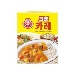 [싸고빠르다] 3분 카레 순한맛 200G 1개 (유통기한 21년 6월 16일)