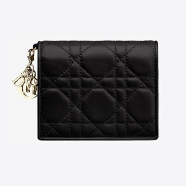 [디올(향수)] [해외배송] 디올 레이디 램스킨 미니 지갑