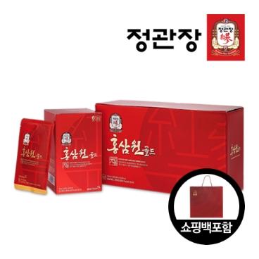 [정관장] 정관장 홍삼원골드 100ml*24포 쇼핑백포함