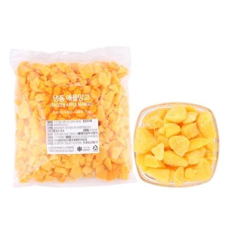 [냉동]솜 냉동애플망고 피스앤바이츠 1kg