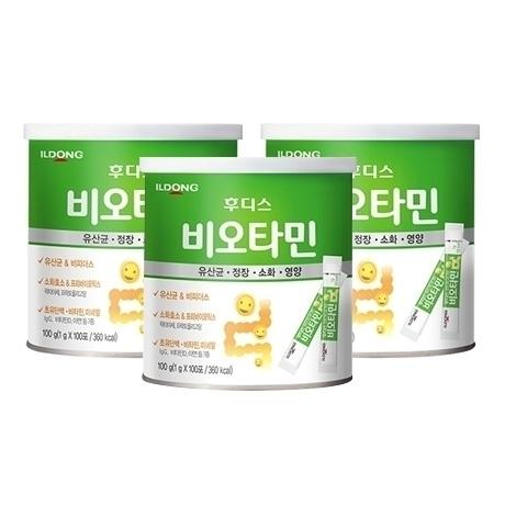 [원더배송] 일동후디스 비오타민 100g 3캔