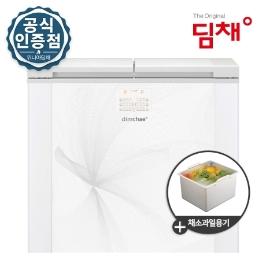 [딤채] ☆ [야채용기증정(2104)] 19년 신형 뚜껑형 딤채 김치냉장고 221리터 EDL22BFTLGS