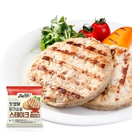 맛있닭 닭가슴살 스테이크 오리지널 100gx5팩(500g)