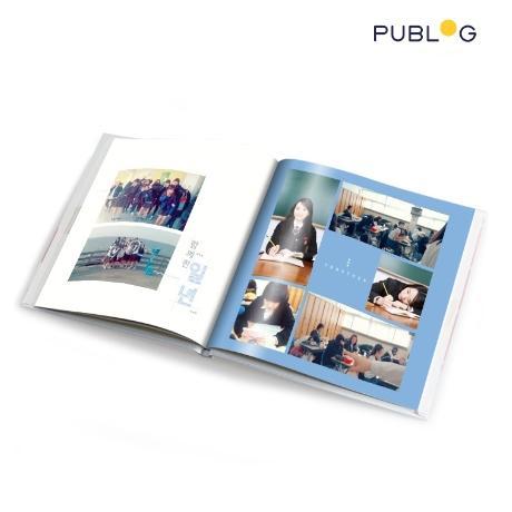 퍼블로그 포토북 8x8 하드커버 이용권
