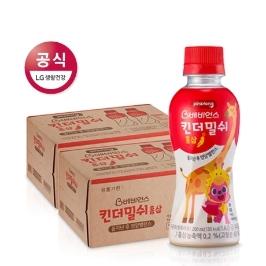 [신제품 출시] 베비언스 핑크퐁 킨더밀쉬 홍삼 (12개월부터) 200ml*48입