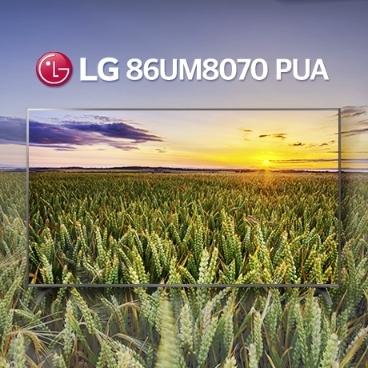 [디지털 위크] [LG] 2019년 모델 86UM8070 PUA 86인치 TV / 모든금액포함
