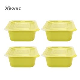 [싸고빠르다] 제오닉 나이스쿡 밥용기 4개 냉동보관 가능!