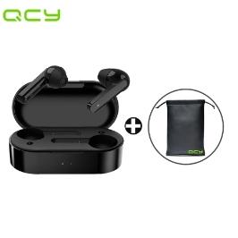 [해외배송] 재고확보 익일발송/ QCY t3 블루투스 무선 이어폰 블랙 / qcy t3 / 블루투스5.0 / 파우치 포함