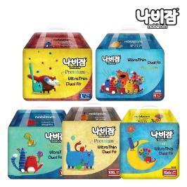 나비잠 울트라씬듀얼핏(팬티)3팩