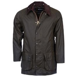 바버 Classic Beaufort Wax Jacket_Olive