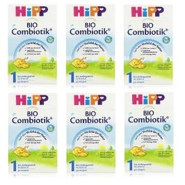 [해외배송] [HIPP] 분유 바이오 콤비오틱 1단계 6통 세트