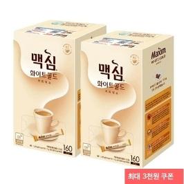 [게릴라특가] 동서 맥심 커피믹스 320T 화이트골드