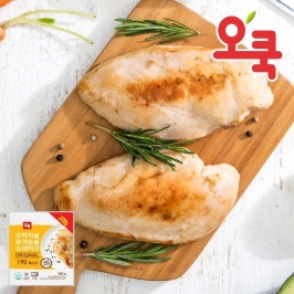 [더싸다특가] 오쿡 오리지날 닭가슴살 3kg (200g x 15팩)
