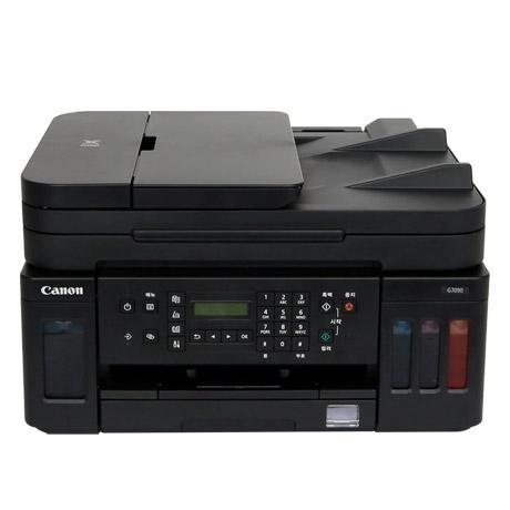 [캐논] [할인혜택가 297330원] DW_ 캐논코리아 정품 무한 G7090 유무선 팩스 복합기 무료배송