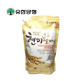 [싸고빠르다] 유한 현미깔끔설거지 1.2kg