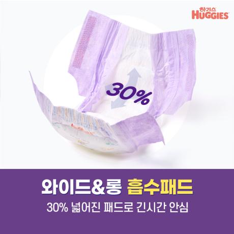 NEW 하기스 맥스드라이 팬티 기저귀 3~7단계 1박스+손소독물티슈18매