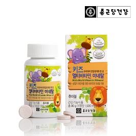 [더싸다특가] 종근당건강 키즈 멀티비타민 앤 미네랄 60정, 1통