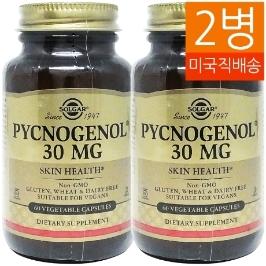 [지앤씨] [해외배송] 2병 솔가 피크노제놀 30mg 60베지캡