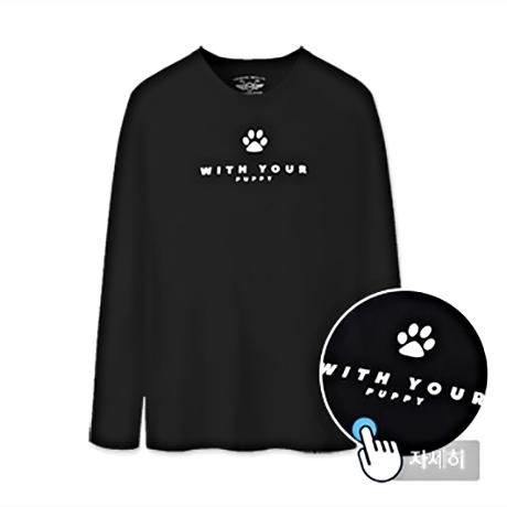 남녀공용 프린트 티셔츠 MBT-LRP1 (PUPPY)