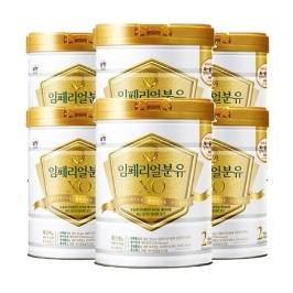 [원더배송] 남양 임페리얼XO 분유 2단계 800g X 6