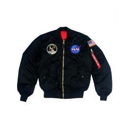 알파인더스트리 아폴로 MA-1 (BLACK) / MJM21097C1
