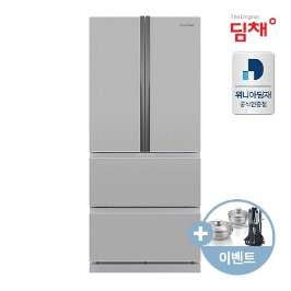 정품 551리터 위니아딤채 스탠드형 김치냉장고 EDQ57DFGBS 브러쉬실버 4도어 위니아 공식판매점 전국무료배송설치