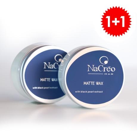 [1+1] 이태리 바버샵 나크레오 헤어왁스 매트 100ml