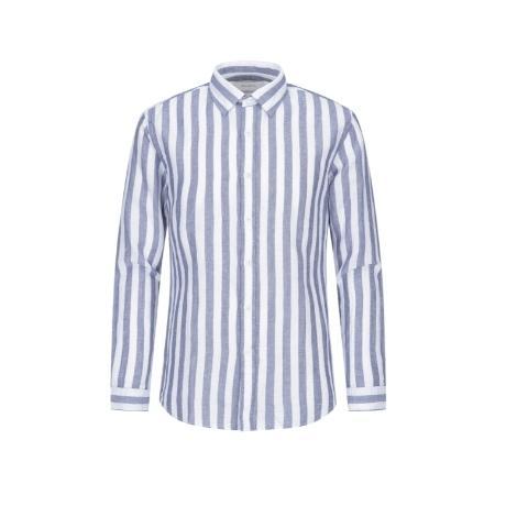 [ZIOZIA]_볼드 스트라이프 셔츠 ABZ2WC1109(블루)