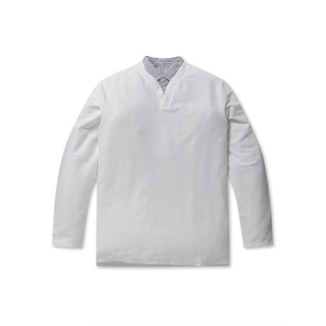 롯데백화점 [프로젝트M] 남성 셔츠 슬릿 티셔츠 EPZ3TR1306