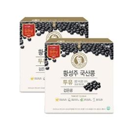 [원더배송] 이롬 황성주 검은콩 두유 190ml  X 32