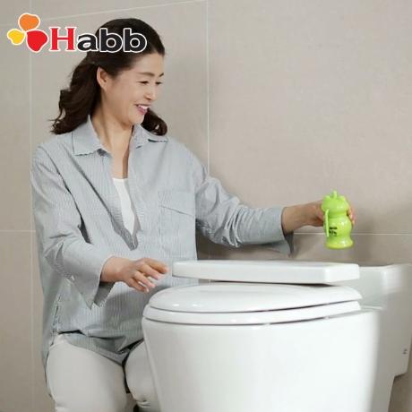 (행사)하비비 청개구리 자동 변기세정제6개 (1년 사용)