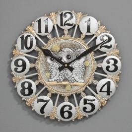 [바보사랑](ksol006)저소음 황실 부엉이시계
