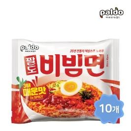 [더싸다특가] 괄도 네넴띤 x 10봉  / 팔도 35주년 한정판 비빔면