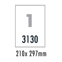 [폼텍] 분류표기용라벨 LS3130100매/1칸/210x297mm