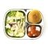 스텐 3구간식 다이어트 유아 아기 어린이 식판