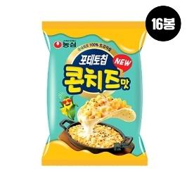 [원더배송] 농심 포테토칩콘치즈맛 60g 16봉
