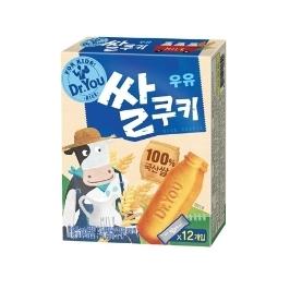 [원더배송] 오리온 닥터유 우유 쌀쿠키 67g 12개