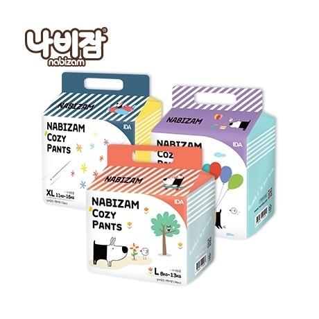 나비잠 코지(팬티)6팩