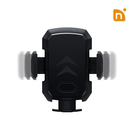 [엔보우] N그랩 차량용 무선충전 스마트폰 거치대 자동슬라이드 15W