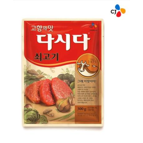 [백설] CJ백설 쇠고기다시다 300g