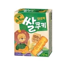 오리온 닥터유 단호박 쌀쿠키 66g 12개