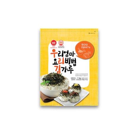 바다모아 우리엄마 요리비법 김가루 1KG 대용량 업소용/ 국산김 100%