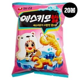 [원더배송] 농심 에스키모밥 60g 20봉