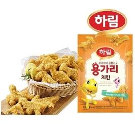 [하림] 하림 용가리치킨 2kg ( 1kg x 2봉 )
