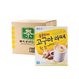 담터 고구마라떼 12T x 20개(1박스) 무료배송