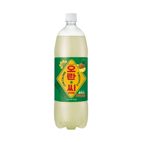오란씨 (파인맛) 1.5L 페트 12입