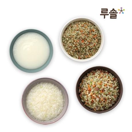 루솔  위크 / 루솔 프리미엄 이유식 3단계 진밥 골고루 10팩
