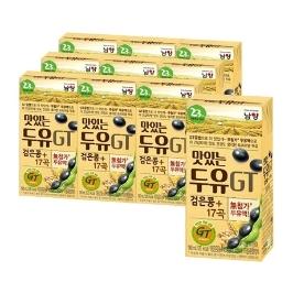 남양 맛있는두유 GT 검은콩+17곡 16팩 190ml