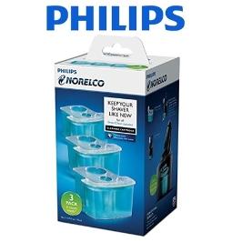 [해외배송] 필립스 면도기 세척액 3개세트 JC303/52