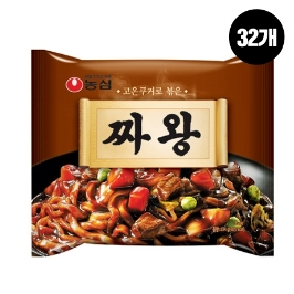 [원더배송] 농심 짜왕 134g 32봉